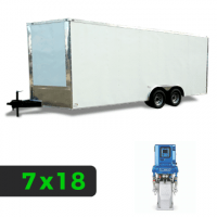 7x18 Spray Foam Rig Package with GRACO E-30 Spray Machine - Insulated Package - Spray Foam Insulation Trailers, Equipment and Coating