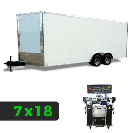7x18 Spray Foam Rig Package with PMC PH-40 Spray Machine - Insulated Package - Spray Foam Insulation Trailers, Equipment and Coating