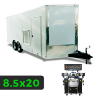8_5x20 Spray Foam Rig Package with PMC PH-40 Spray Machine - Insulated with Shore Power Rig- Spray Foam Insulation Trailers and Equipment