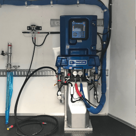 Graco e-30 Reactor- top rated spray foam equipment