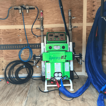 Spray Foam Insulation Spray EZ Machine