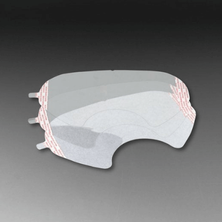 3M Faceshield Cover for 6000 Series - Spray Foam Insulation and Coating Safety Equipment