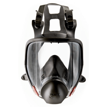3M Full Facepiece Reusable Respirator 6900 Dark Grey - Spray Foam Insulation and Coating Safety Equipment