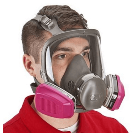 3M Full Facepiece Reusable Respirator 6900 - Spray Foam Insulation and Coating Safety Equipment