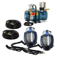 Allegro Full Mask Low Pressure System 9200-02 - Spray Foam Insulation and Coating Equipment