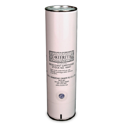 Drierite Disposable Desiccant Air Dryer Cartridge - Spray Foam Insulation and Coating Equipment