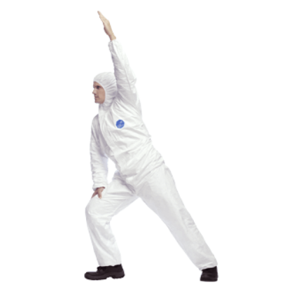 DuPont Tyvek Suit fits great while moving - Safe Spec Product Description