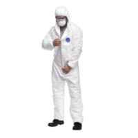 DuPont Tyvek Suit has a longer zipper puller - Safe Spec Product Description