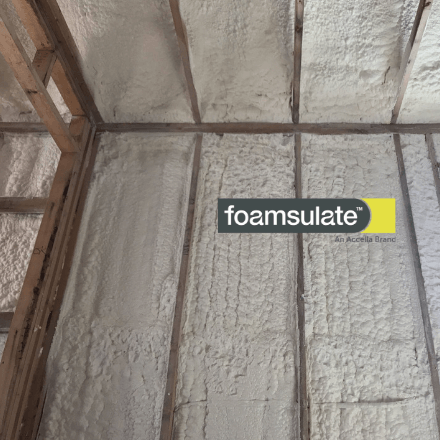 Foamsulate 50 - Spray Foam Insulation Open Cell Light Density