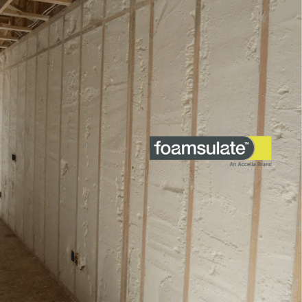 Foamsulate Closed Cell Spray Foam Insulation Open Cell