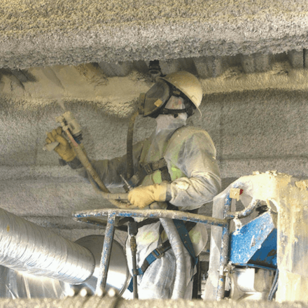 Graco Fusion CS in Action - Spray EZ Spray Foam Guns - Spray Foam Insulation and Coating Equipment
