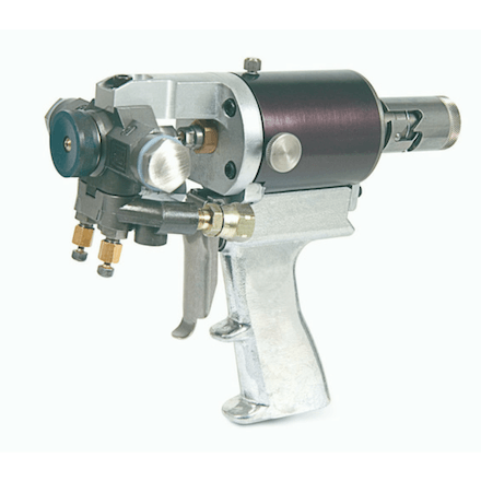 Graco GX7 side view - Spray EZ Spray Foam Guns - Spray Foam Insulation and Coating Equipment