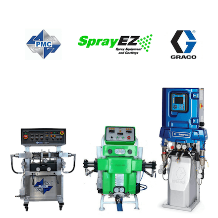 Spray Foam Machines - Graco PMC SprayEZ - Spray Foam Insulation Machines