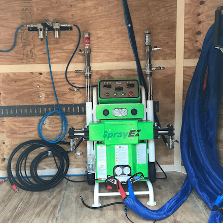 SprayEZ 3000 Spray Foam Machine Custom Rig - Spray Foam Insulalation Equipment