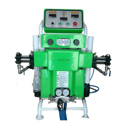 SprayEZ 3000 Spray Foam Machine Front - Spray Foam Insulalation Equipment
