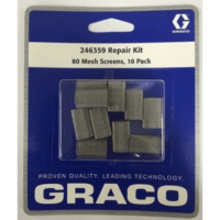 246359 Number 80 Mesh Filter Screen - Graco parts for spray foam insulation equipment