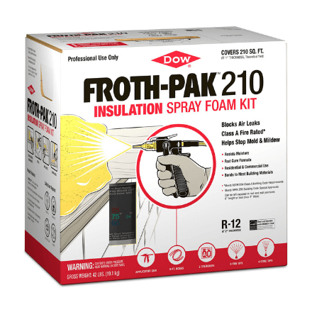 DOW FROTH PAK FOAM SEALANT 210bf - Spray Foam Material Single Component