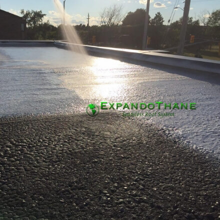 Expandothane Polyurea Material - Flexible Waterproofing - SprayEz Spray Coating Material