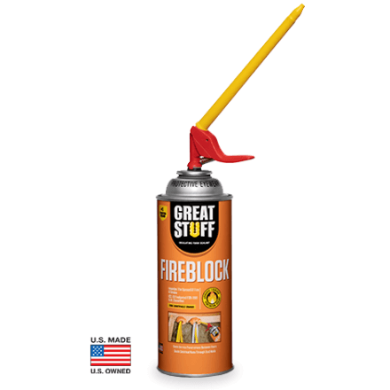 GREAT STUFF FOAM SEALANT FIREBLOCK - Spray Foam Material Single Component