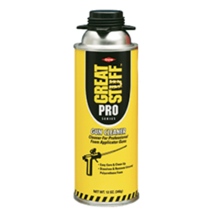 GREAT STUFF PRO GUN CLEANER - Spray Foam Material Single Component