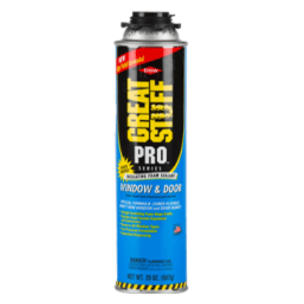 GREAT STUFF PRO WINDOW AND DOOR FOAM INSULATION SEALANT - Spray Foam Material Single Component