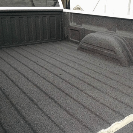 Rockhard Bedliner - Before and After Photos - Polyurea Material Black Polyurea