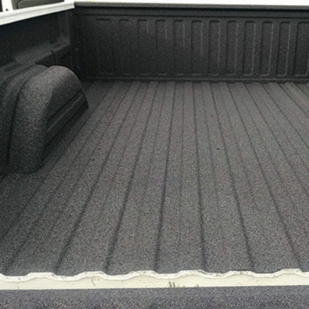 Rockhard Bedliner - Before and After Photos - Polyurea Material Black