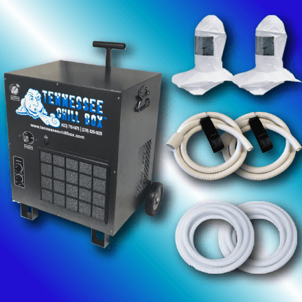 Tennessee Chill - CB8000H 2 Masks - Chill Box CB8000 - Safety Equipment for Spray Foam Insulation