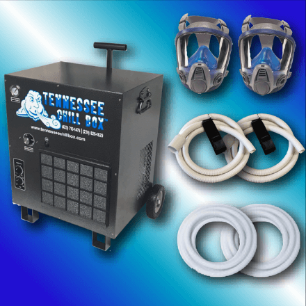 Tennessee Chill - CB8000M 2 Masks - Chill Box CB8000 - Safety Equipment for Spray Foam Insulation