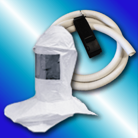 Tennessee Chill - CBHK Hood Headband Breathing Tube Belt and Clip - Safety Equipment for Spray Foam Insulation