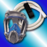 Tennessee Chill - CBMSK Hood Headband Breathing Tube Belt and Clip - Safety Equipment for Spray Foam Insulation