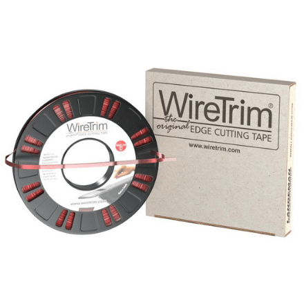 WireTrim Trim Tape - RedLine HD 90FT - Metal Wire Filament - RockHard Bedliner Accessory