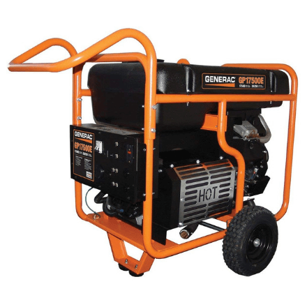 Generac GP17500E Portable Generator for Spray Foam Rigs by SprayEZ