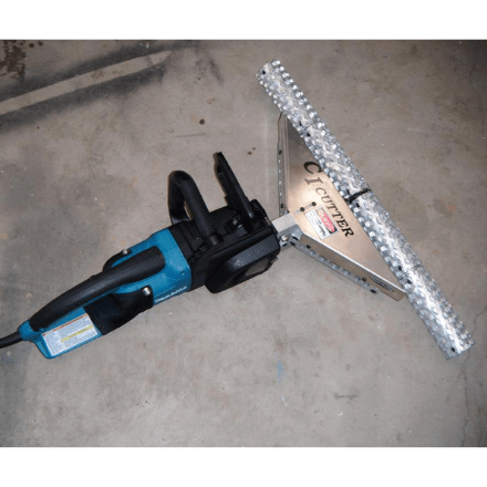 Open Cell CI Cutter - 27.5 Inches - Includes Drill Attachment - Spray Foam Insulation Tools and Accessories Available at SprayEZ