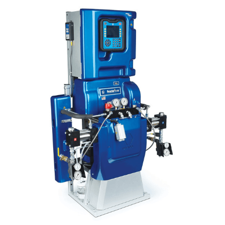 Reactor 2 H-XP2 Proportioner Package with Fusion AP Spray Gun, 15 kW - Spray Foam and Polyurea Equipment available at SprayEZ