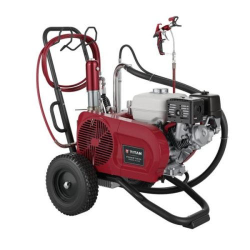 Titan PowerTwin 12000 Plus Gass Airless Sprayers- for sale from SprayEZ Equipment and Coatings - we will not be undersold