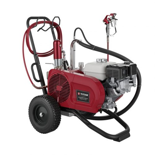 Titan PowerTwin 4900 Plus gas Airless Paint Sprayer - SprayEZ Equipment and Coatings- we will not be undersold