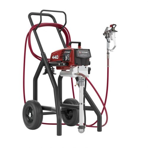 Titan Impact 440 Airless Paint Sprayer High Rider for Sale From SprayEZ Equipment and Coatings