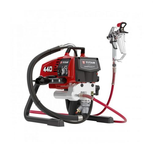 Titan Impact 440 Airless Paint Sprayer Skid for Sale From SprayEZ Equipment and Coatings