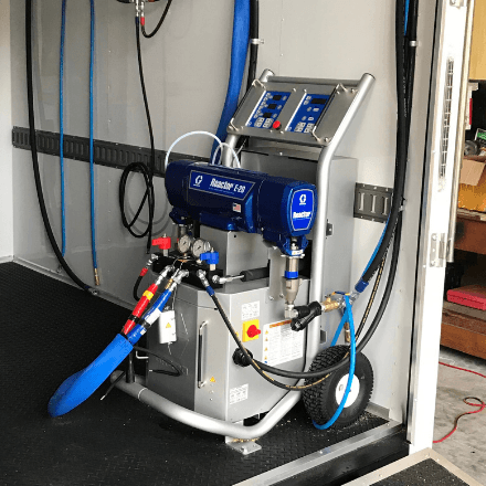 Insulated Graco E-20 Rig Package- Spray EZ Rig Specials
