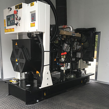 Pictured 30kw Kohler Generator - Spray Foam Equipment and Coatings for sale from Spray EZ Equipment and Coatings