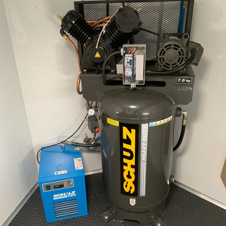 Schulz air compressor for sale 30kw optional air dryer - Spray Foam Equipment