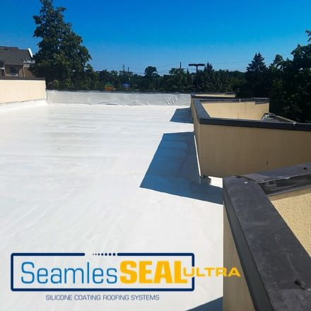 SeamlesSEAL Ultra HS Silicone Coating- The superior choice for weather proofing roofing systems and offer resistance to UV rays