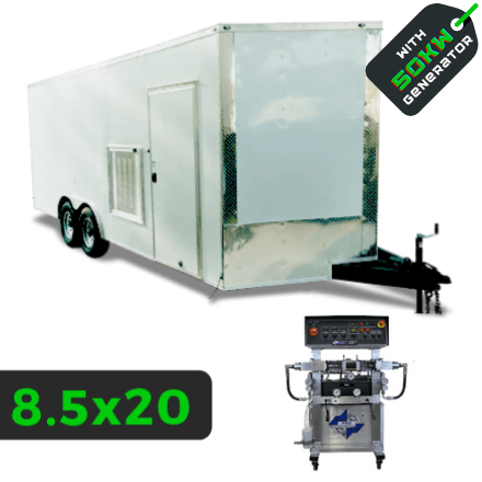 PMC PH-2 INSULATED SPRAY RIG WITH 50KW 8.5X20