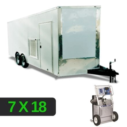 GRACO A25 STARTER PACKAGE 7X18 RIG